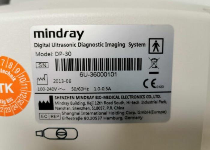 MINDRAY DP-30 portable Ultrasound