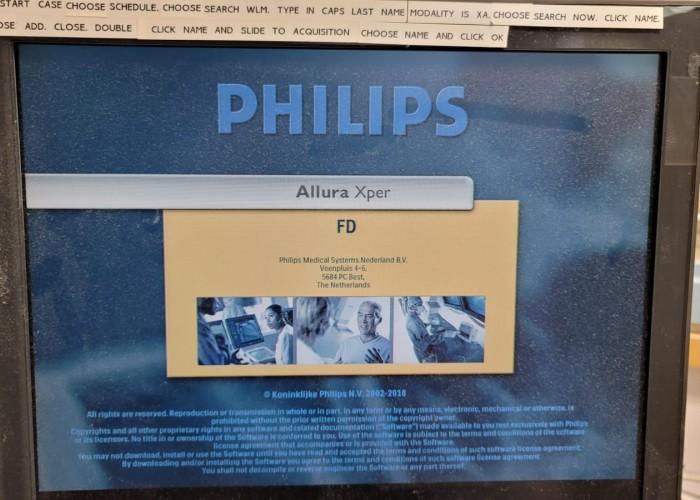 Cath lab Philips FD10